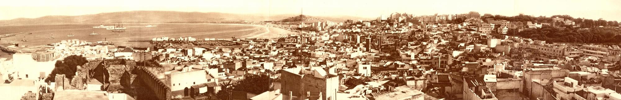Vista de la ciudad de Tanger