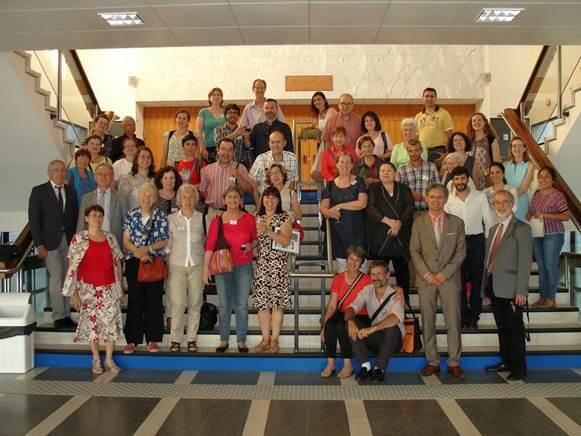Participantes a las Jornadas de REDIAL (Bordeaux, 2014)